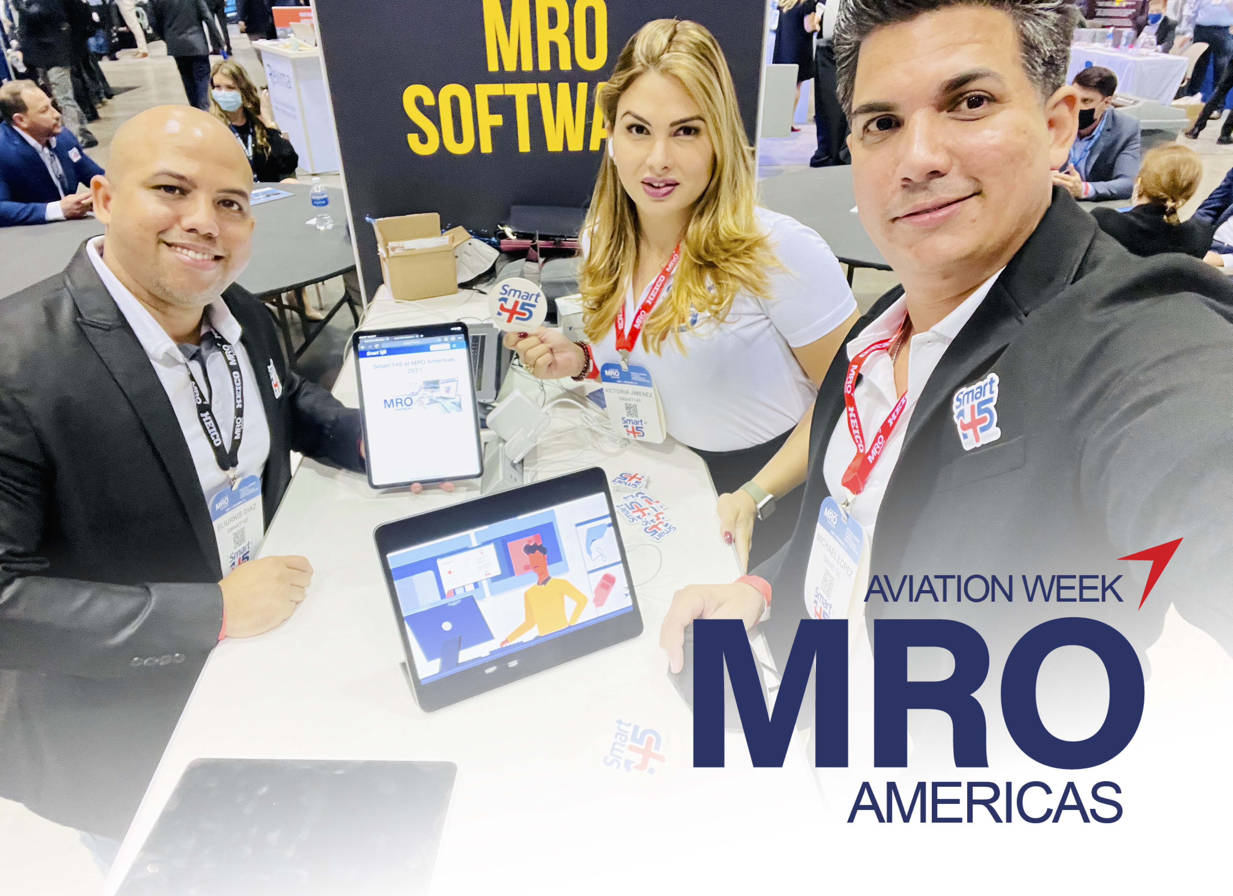 Smart145 Experience at MRO Americas 2021