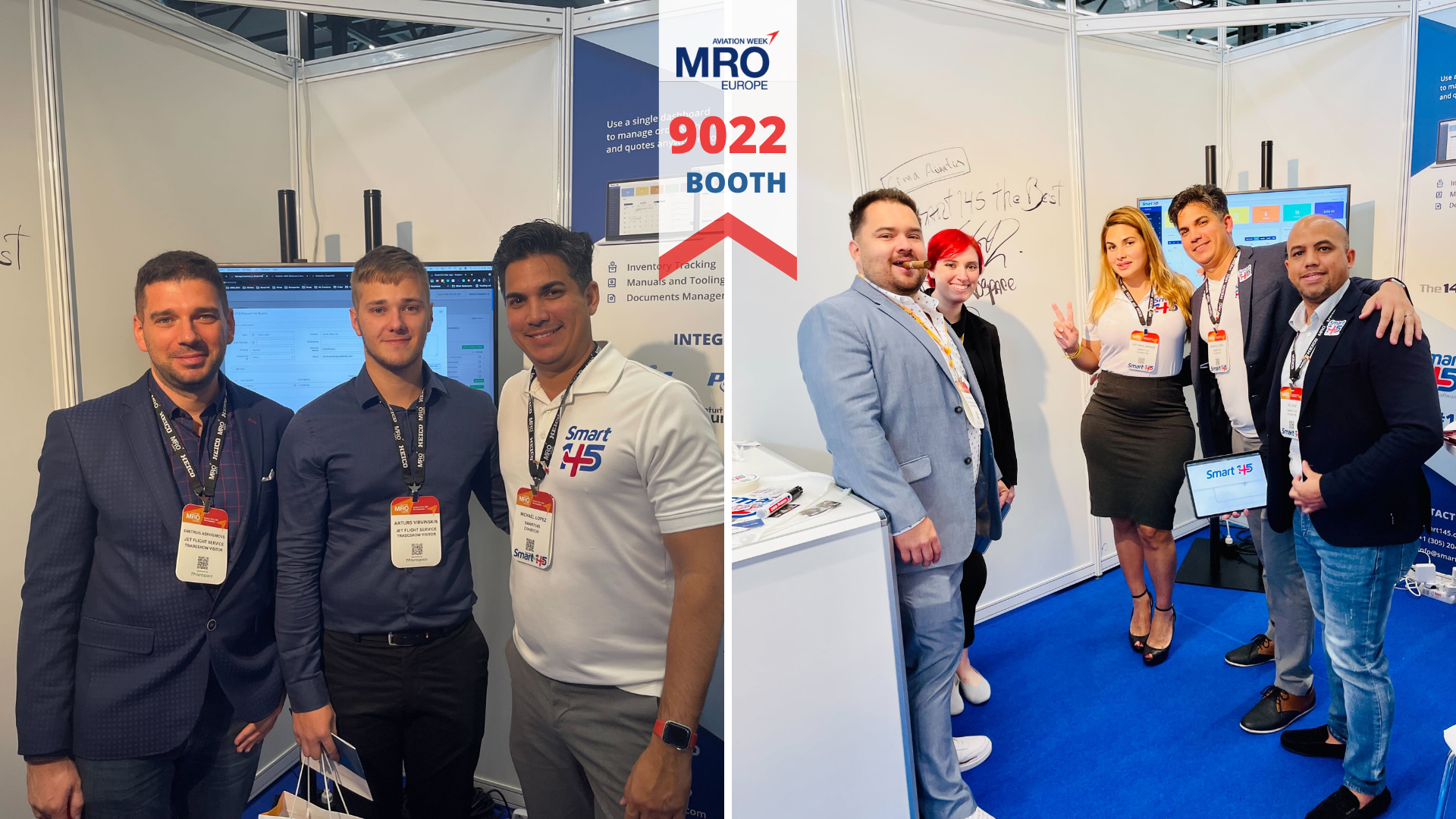 Smart145 at MRO Europe 2021
